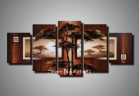 natural-natural-scenery-100-hand-painted-oil-wall-art-5 ...