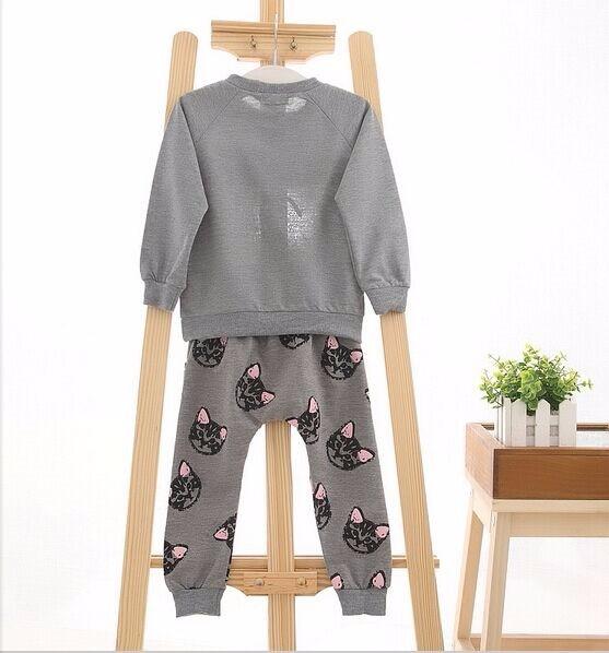 f4a47edf9 ⑥Baby Girl Clothes Sets 2 Pcs Autumn Kids Clothes Fashion Children ...