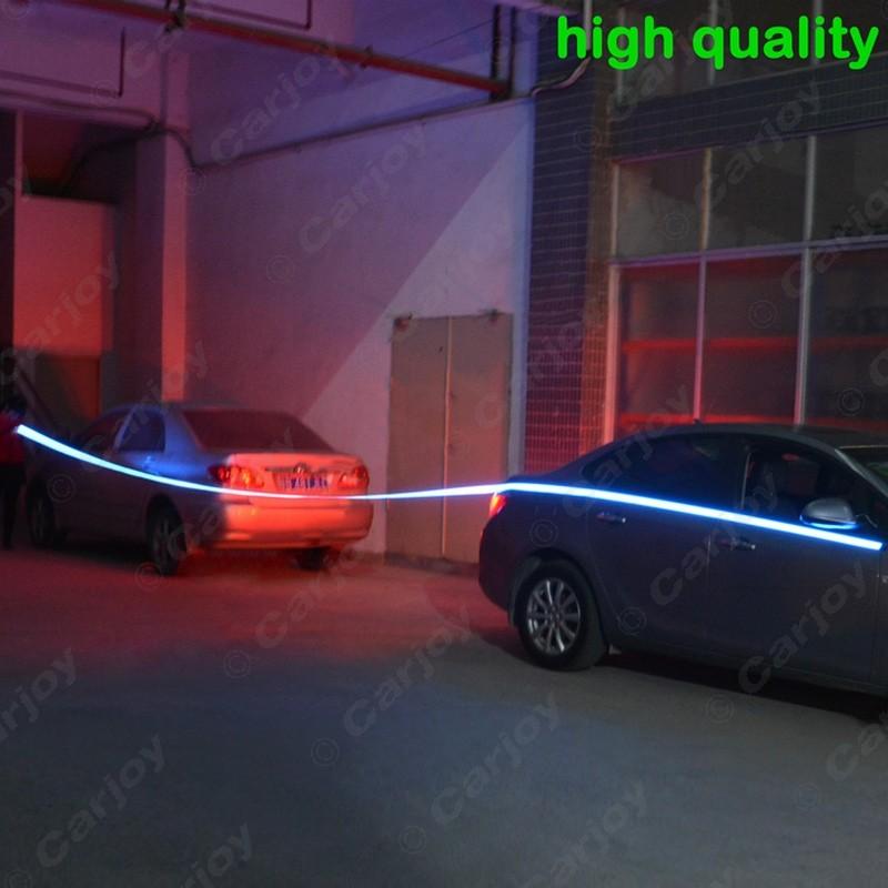 ⑤FEELDO 1set Car 60CM*14MM Electroluminescent Tape EL Wire Cold ...