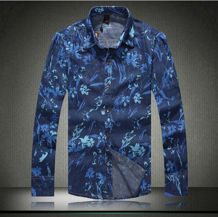 mens floral dress shirt