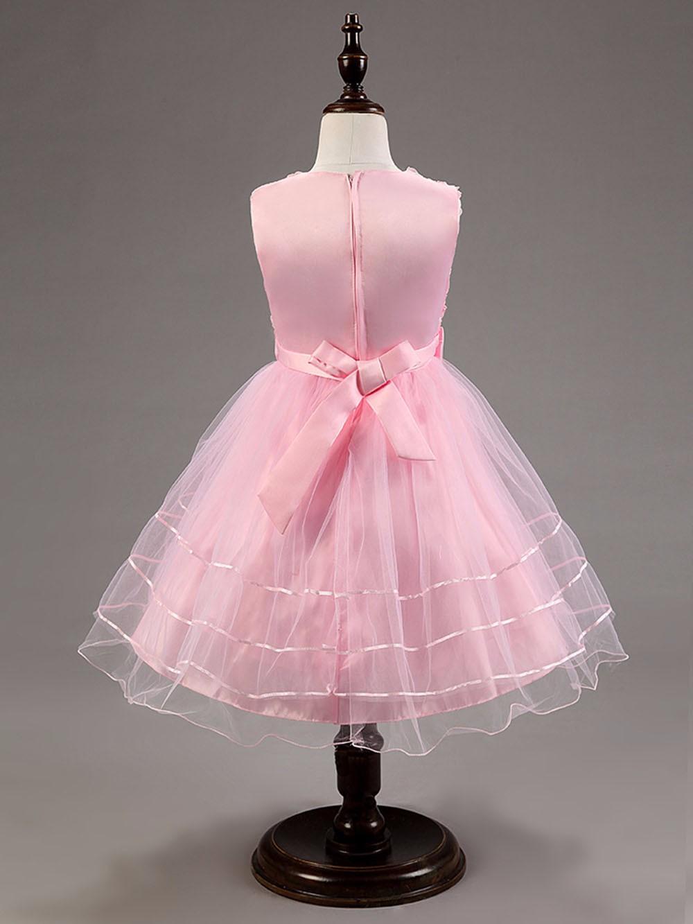 ④3-12 años verano niñas vestido niños vestidos para las niñas de ...