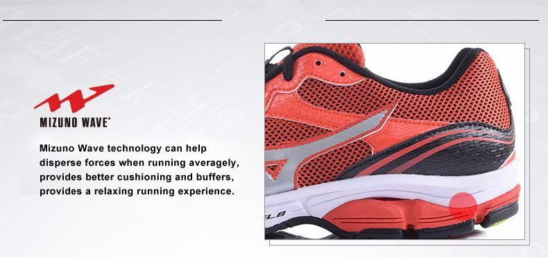 686fb55d47ca Mizuno Для мужчин волна высоте сетки дышащая легкая Вес Cushioning бег  Кроссовки Спортивная обувь спортивная обувь j1gr141701 xyp296USD  149.99 pair ...