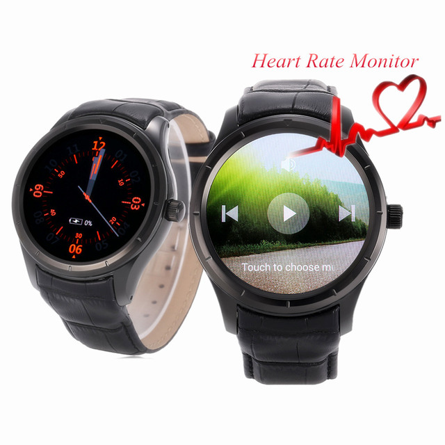 Finow Q3 1.39 дюймов Android 4.4 3 Г Smart watch Phone MTK6572 Dual Core 1.3 ГГц 512 МБ RAM 4 ГБ ROM Heart Rate Monitor Smartwatch