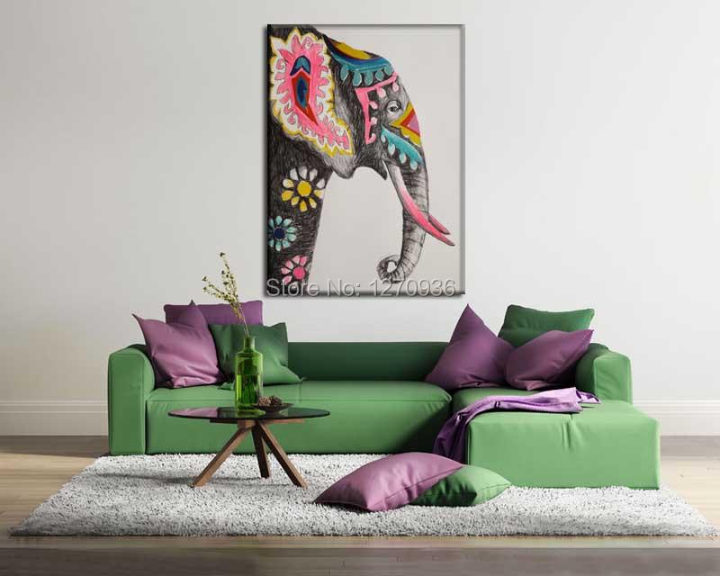 っEtiqueta de la pared de La Flor Creciente de Elefante Decoración ...