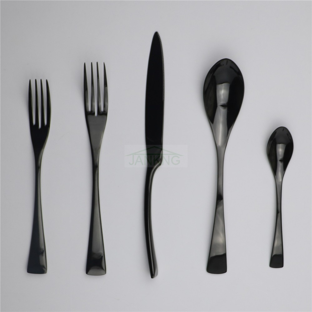 Jankng 30 P S Lote Preto Dinnerware Set Talheres De