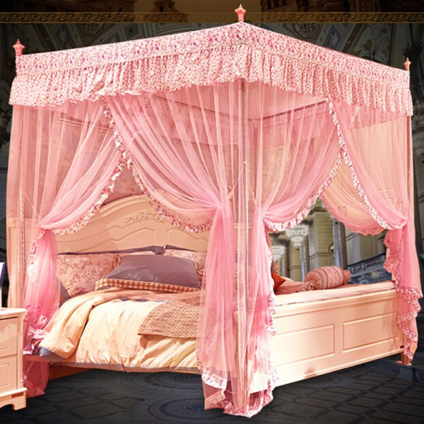 Popular Steel Canopy Cheap Bed Lots