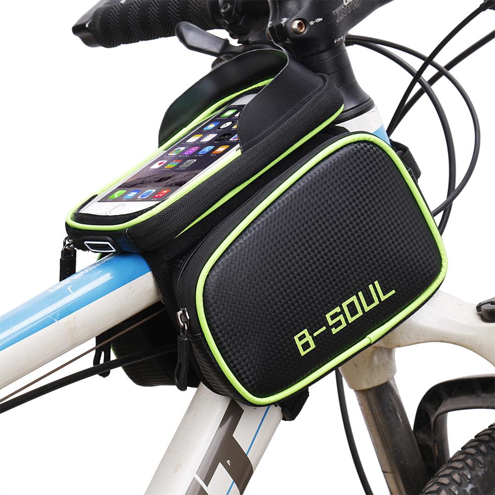 B-Seele Fahrradrahmen Taschen Vorne Leiter Top-schlauch-beutel ...