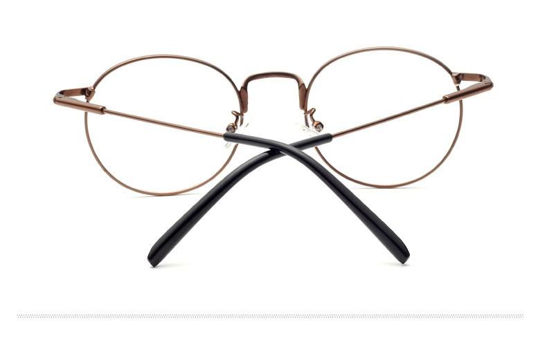Mode lunettes cadre simple rétro plein cadre lunettes classique sauvage  modèles montures de lunettes en métal lunettes plaine lunettes M5998 64c2cdc369f7