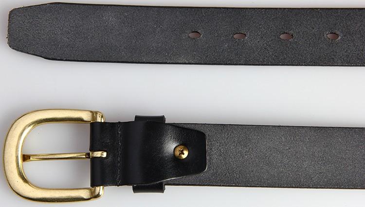 5XL Tailles 100/% véritable ceinture en cuir noir cloutées Made in UK Grande taille longue 2XL
