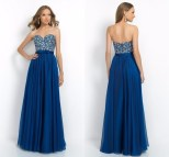 Royal Blue Long Special Occasion Dress