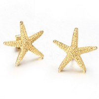 Gold Starfish Earrings Promotion-Shop for Promotional Gold ...