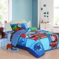 Aliexpress.com : Buy Train Thomas bedding set twin size ...