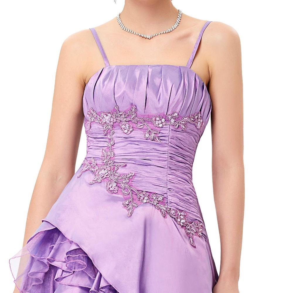 Bonito Más El Tamaño Púrpura Vestidos De Fiesta Modelo - Ideas de ...