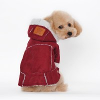 cheap designer funny dog clothes pet winter clothing suit ...