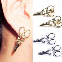Gold Scissor Earrings Reviews - Online Shopping Gold ...