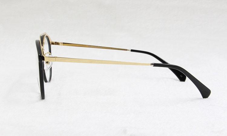dcd2324f5 ⑧BCLEAR chegada de nova moda estilo retro dupla pontes frame ótico ...