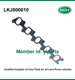 free shipping lkj000010 2 5l diesel exhaust manifold car cylinder head gasket for land range rover discovery engine spare parts [ 907 x 907 Pixel ]