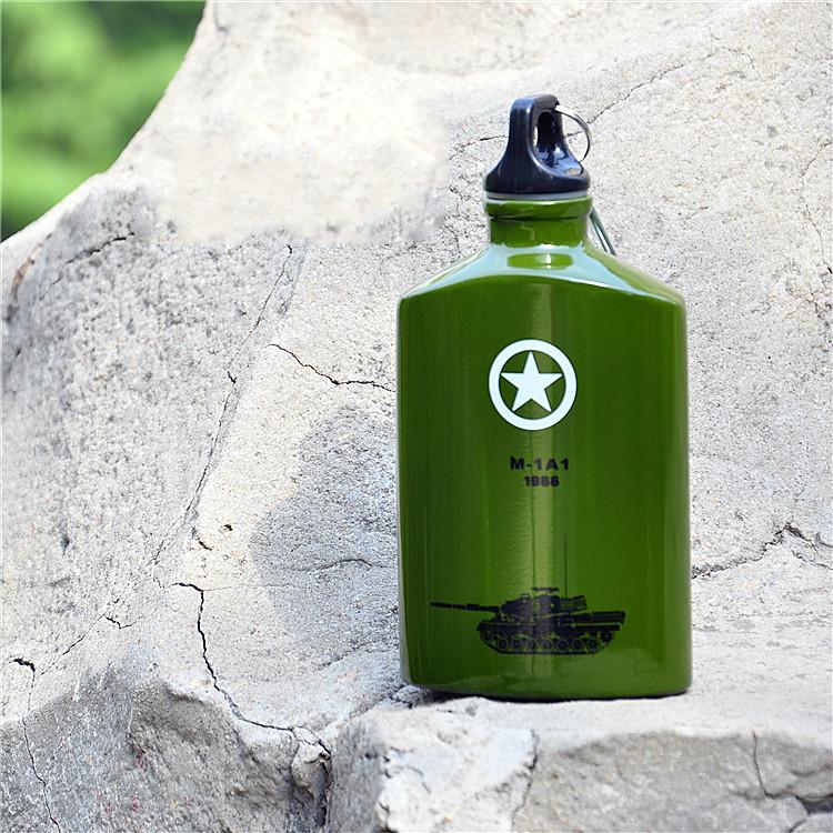 Taza de acero inoxidable botella frasco vacío Thermos garrafa ...