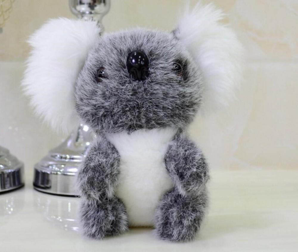 ᐃAlta simulación Australia Koala 18 cm suave felpa animal muñeca ...
