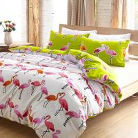 Aliexpress.com : Buy Luxury Flamingo bird bedding set ...