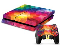 Rainbow Color PS4 Sticker PS4 Skin PS4 Stickers + 2Pcs ...