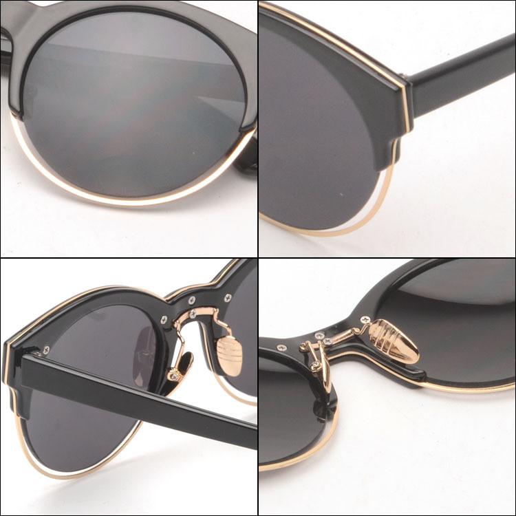 0330671ab2d28 ჱRodada Chifre Aro SIDERAL 1 J63Y1 Grife Mulheres óculos de Sol ...