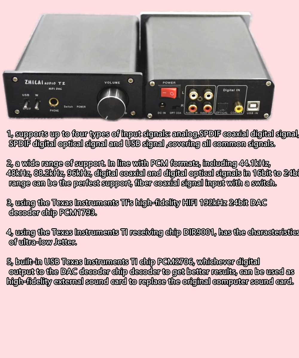 T2 Dac Pcm1793 Pcm2706 Hifi High Fidelity 192khz 24bit Usb Fiber K6 700 Watt Audio Amplifier And Switching Power Supply Getsubject Aeproduct