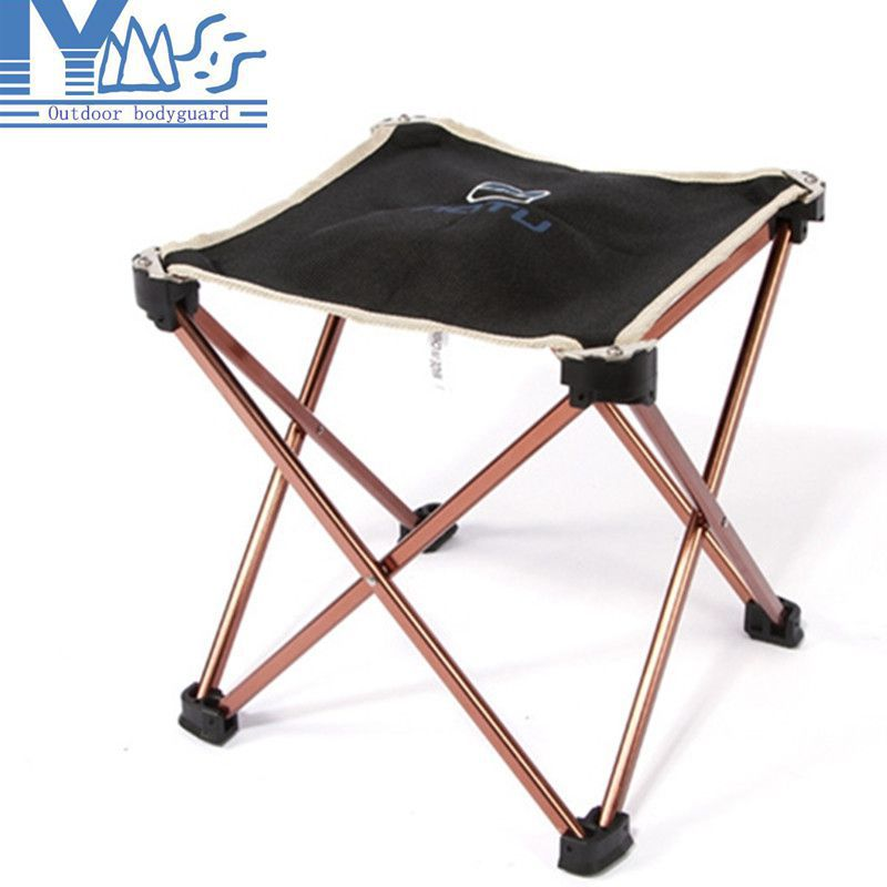 Lightweight Outdoor Aluminum Square Portable Foldable