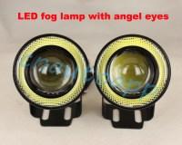 LED Fog light With Angel Eyes10W Projector Fog Lamp For ...