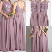 Popular Mauve Bridesmaid Dresses-Buy Cheap Mauve ...