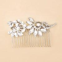 Wholesale Korea Wedding Crystal Flower Hair Combs Wedding ...
