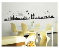 High Quality Burj Dubai Removable PVC Wall Sticker Decals