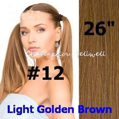 hair extensions remy human hair extension color 12 light golden brown long hairstyles