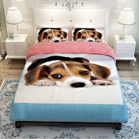 Dog Print Bedding Promotion