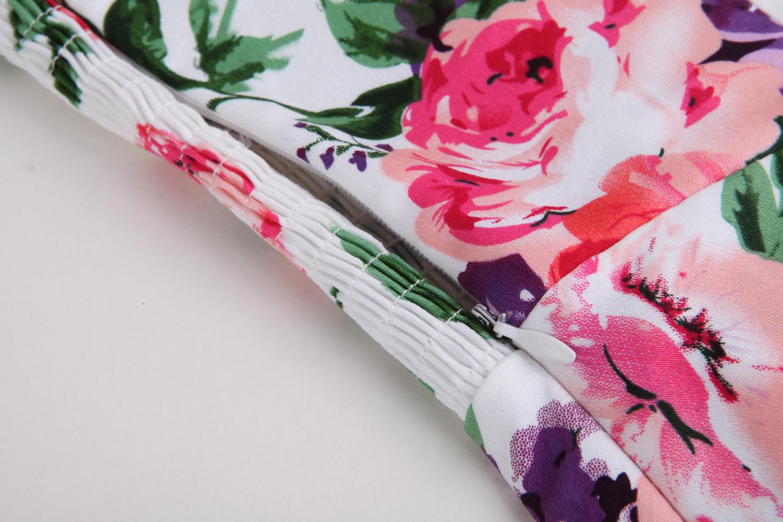 ▻2017 European American Retro Style Women Summer Sleeveless Dress ...