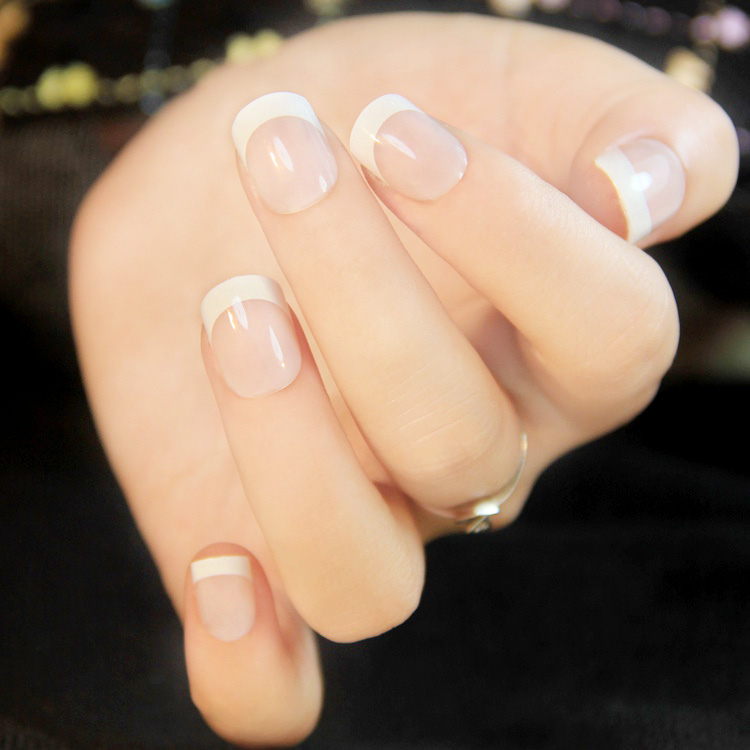 French Manicure On Short Nails At Home