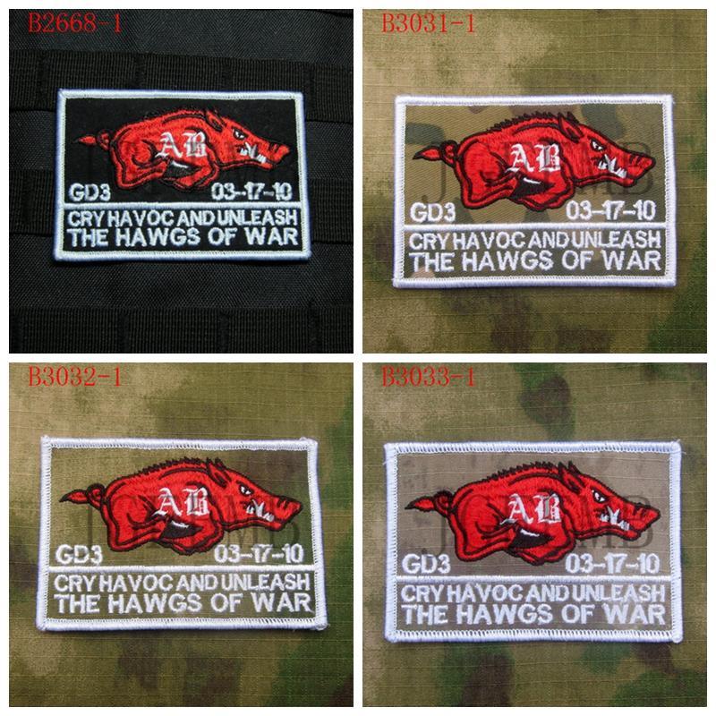 ⓪DEVGRU NSWDG SealTeam6 Os hawgs de guerra Militar Tático Moral ... 93e7e1a91af