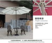 Factory Direct 2.7m hand Tiesan outdoor umbrellas umbrella ...