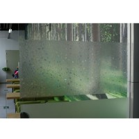 45x100cm 3D Static Cling Removable Window Film Decorative ...