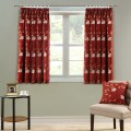 Pencil pleat short curtains for living room bedroom free shipping jpg