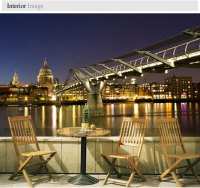 Large scale murals london night landscape modern living ...