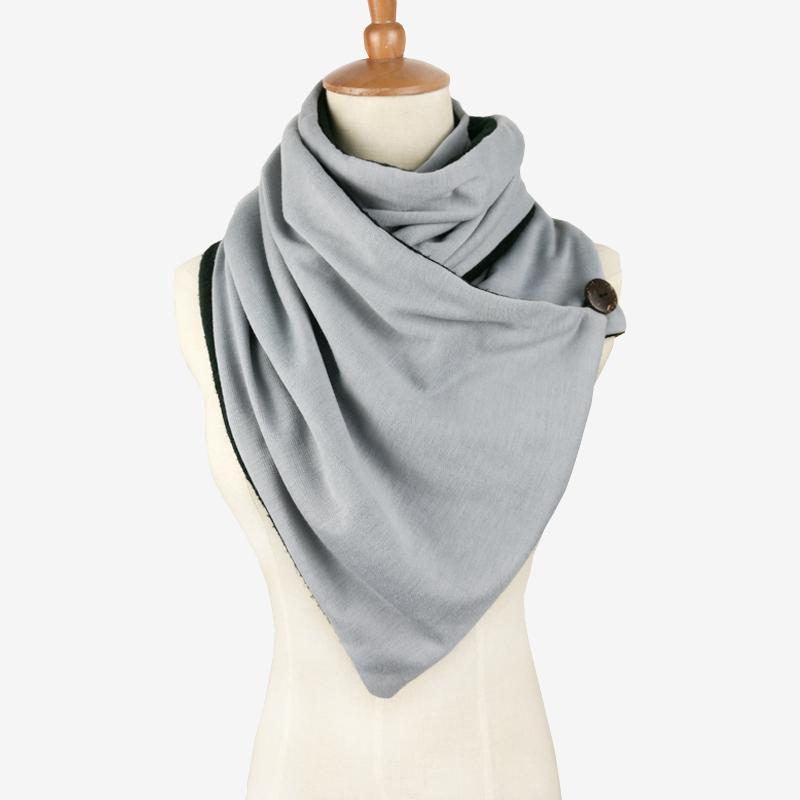 ᐃLeo anvi diseño 10 unids invierno moda knit mens bufanda infinito ...
