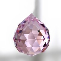 Crystal Glass Faceted Balls 20mm(5Pcs/Lot)Crystal ...