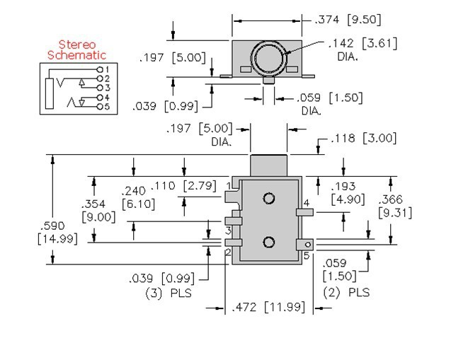 35 Mm Stereo Jack Wiring Diagram