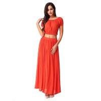2016 Casual Summer Dress O Neck Patchwork A Line Vestidos