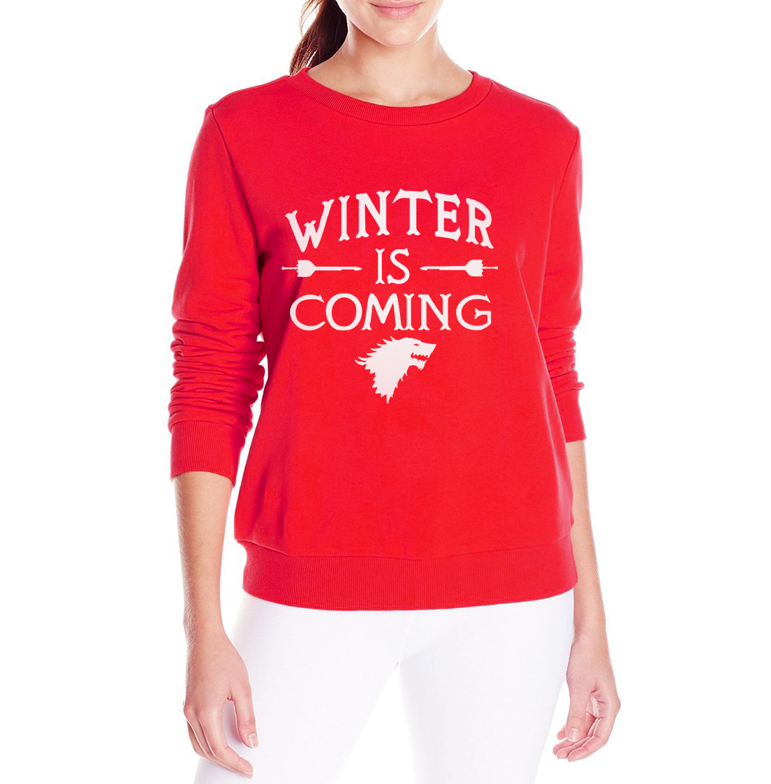 Fashion Juego De Tronos Soon Funny Winter Women Sweatshirt White Sheathed Old Colours Red Black 6mm Twin Earth Wiring Cable As Different Computers Display Colors Differently The Color Of Actual Item May Vary Slightly From Above Images Thanks For Your Understanding