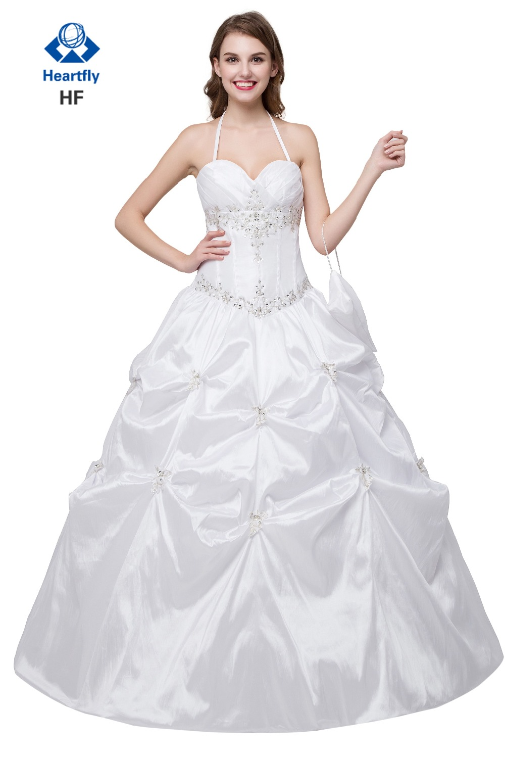 Popular White Debutante Gowns