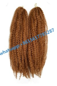 JANET Noir Afro Twist Braid Kanekalon Synthetic Marley ...