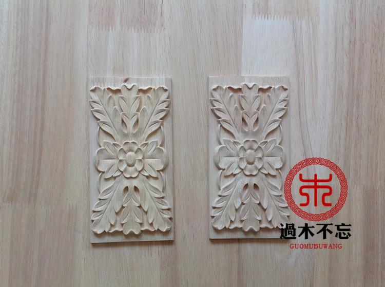 Buy dongyang wood carvings corner flower applique door continental