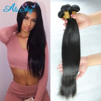 peruvian virgin hair straight 5pcs/lot 6a unprocessed ...